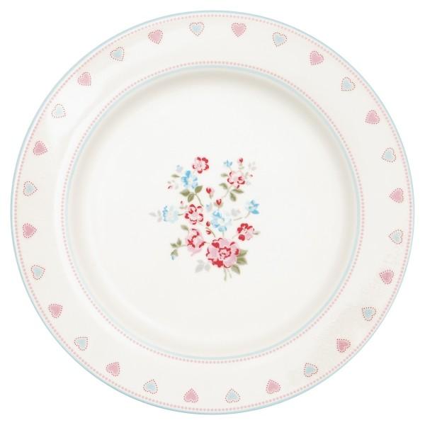 Dinner Teller Sonia white
