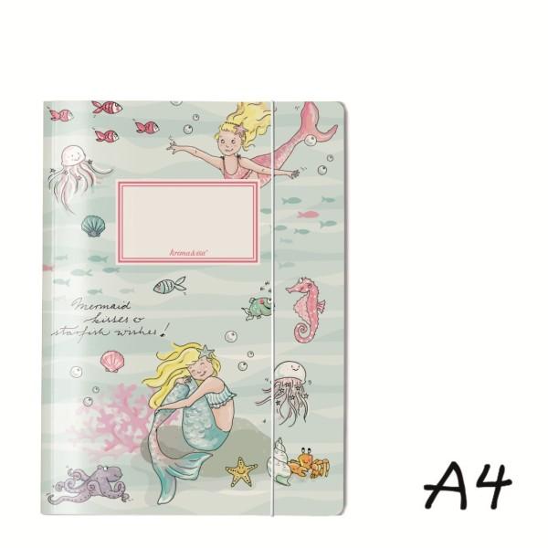 Sammelmappe Meerjungfrau A4