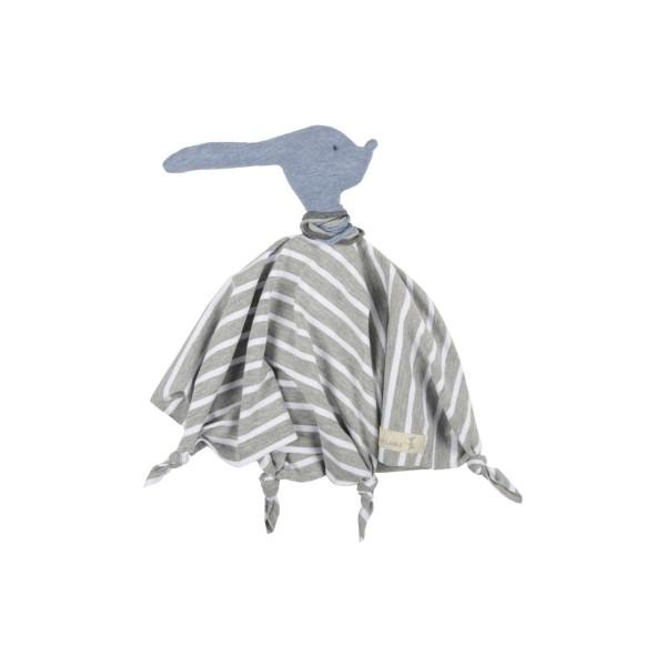 Schmusetuch Hase Taru grau