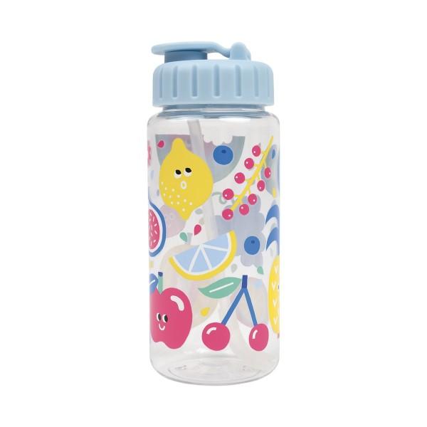 Flasche aus Tritan Tutti Frutti blau