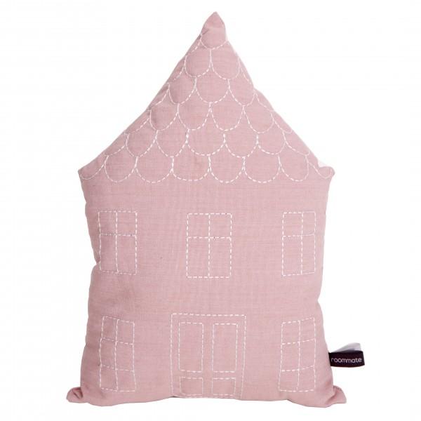 Haus Kissen Rosa