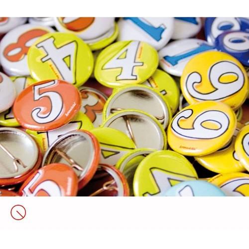 Button Zahlen