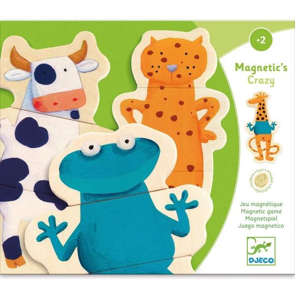 Holz Magnete - verrückte Tierwelt