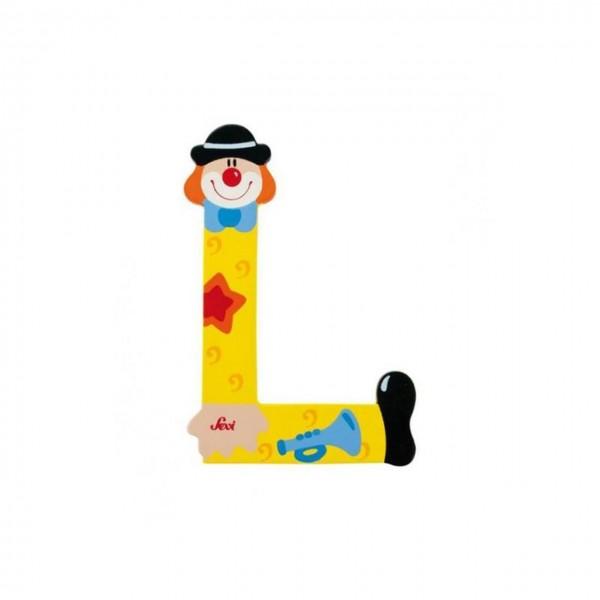Buchstabe Clown L