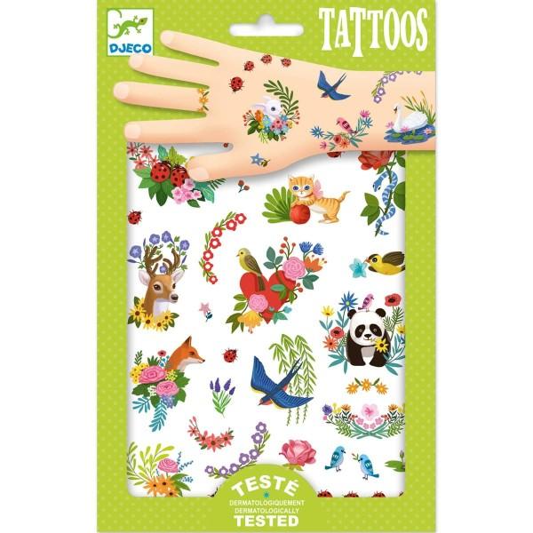 Tattoos: Fröhlicher Frühling