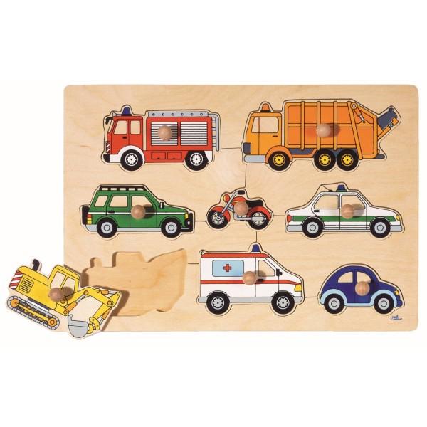 Steckpuzzle Autos