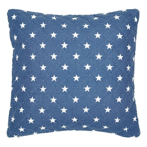 quilted Cusion Star indigo