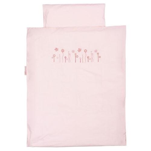 Bettwäsche Blumen rosa