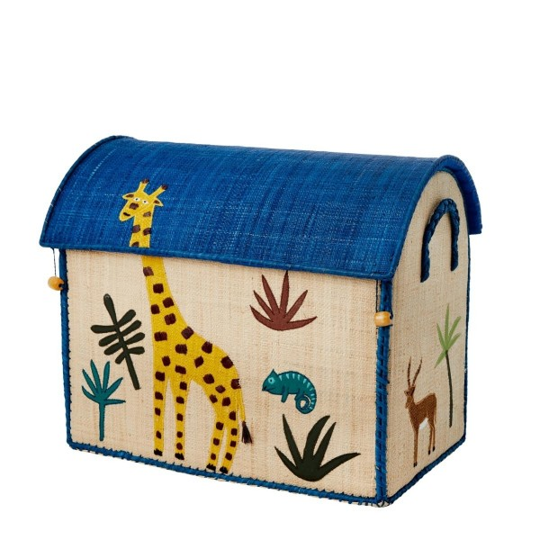 Landhauskorb Giraffe mittel