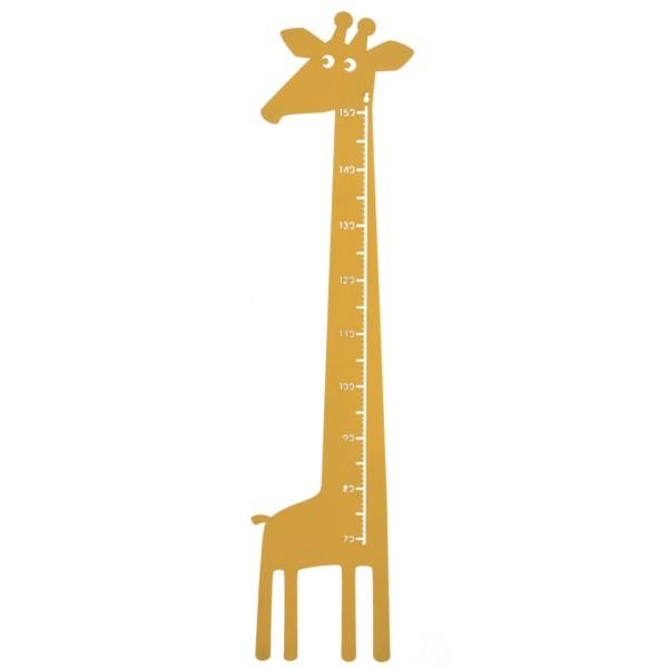 Messlatte Giraffe gelb