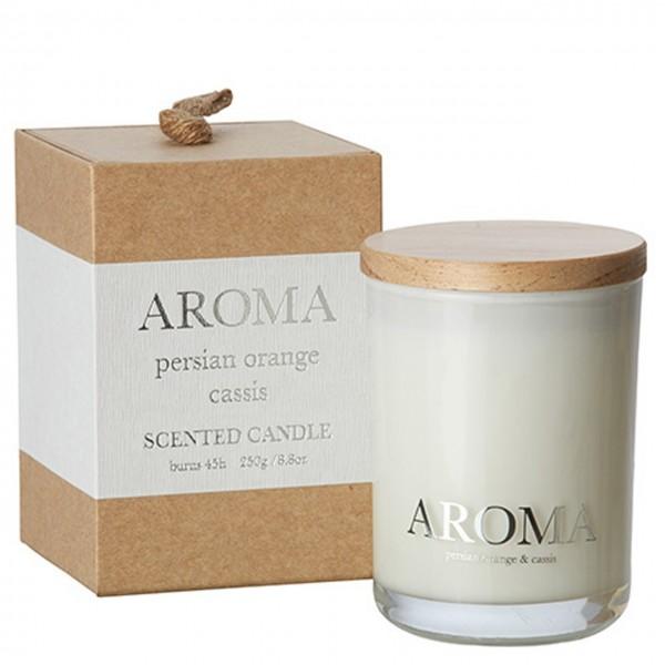 Kerze Aroma orange & cassis M