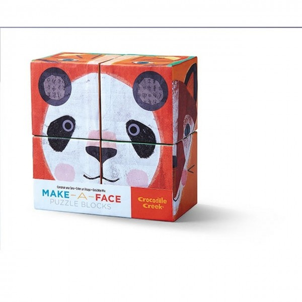 Puzzle Tiere Make a Face