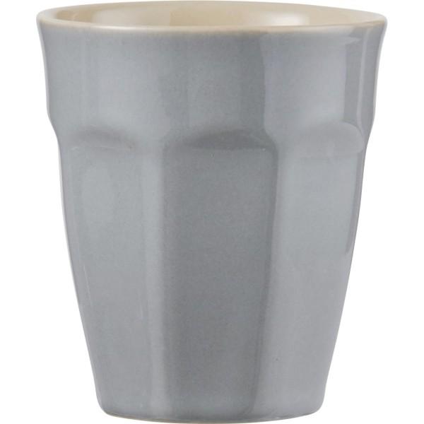 Latte Becher French Grey klein