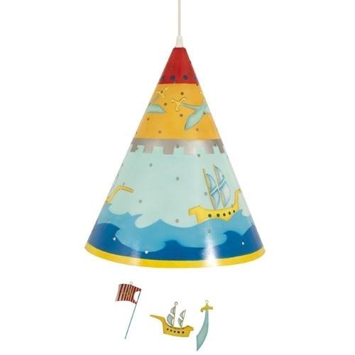 Oiseau Bateau Kinderlampe Piratenglück