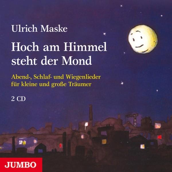 Hoch am Himmel steht der Mond