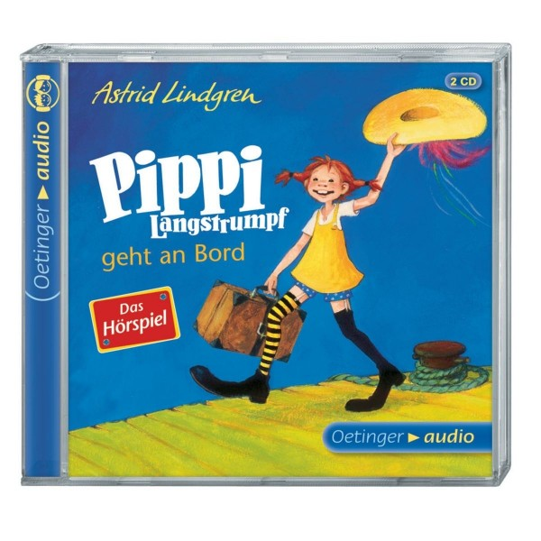 Pippi Langstrumpf geht an Bord (2 CD)