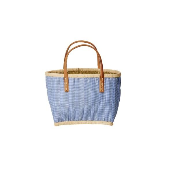 Kids Shopper Vichy blau