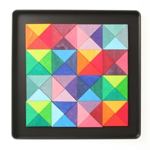Mini Magnetspiel Dreiecke
