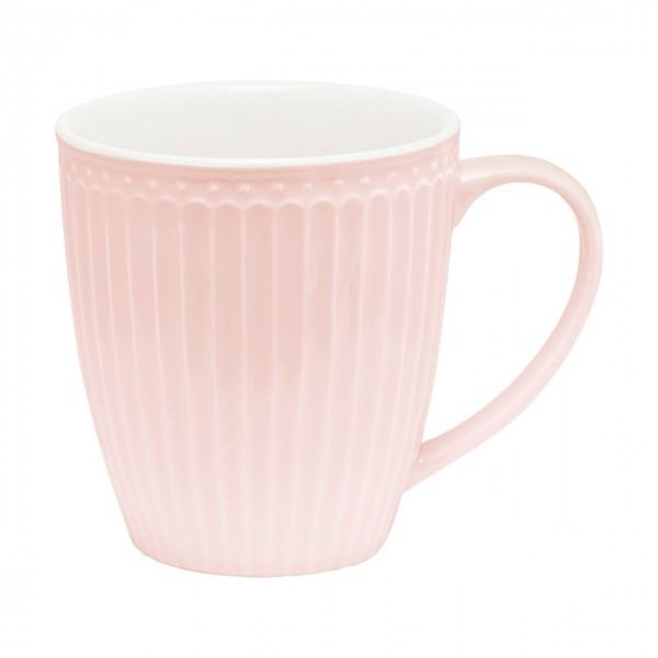 Henkeltasse Alice pale pink
