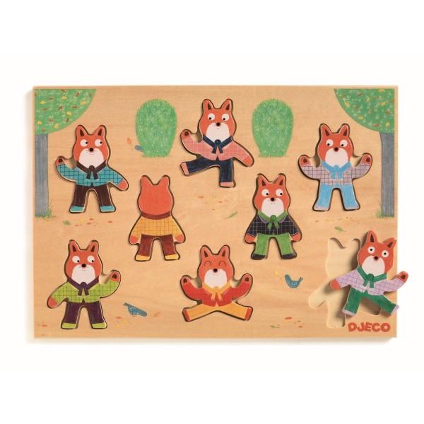 Reliefpuzzle: Foxymatch