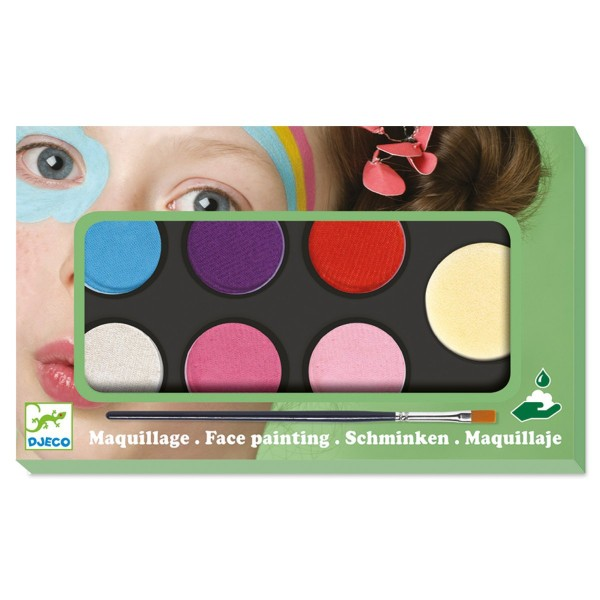 Kinderschminke mit 6 Farben