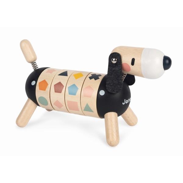 Formen- und Farben Hund