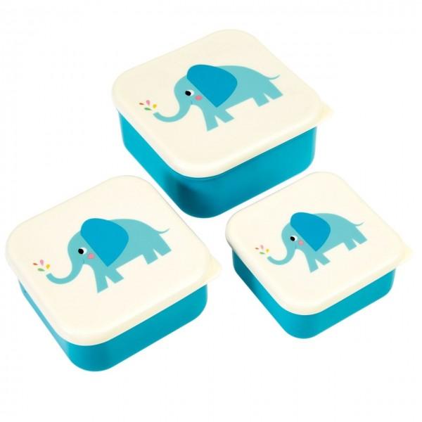 Brotdose 3er Set Elefant Elvis