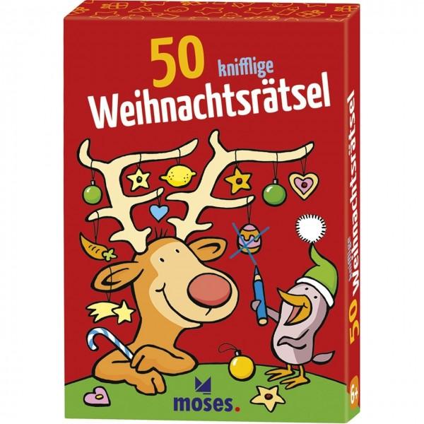 50 knifflige Weihnachtsrätsel