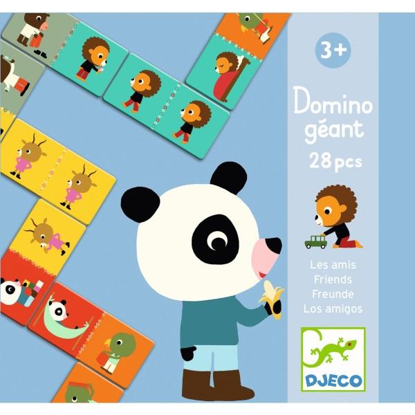 Lernspiel Giant domino - Friends