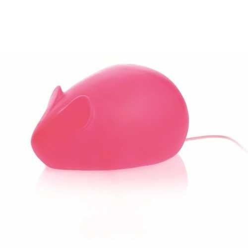 Kinderlampe Maus Pink