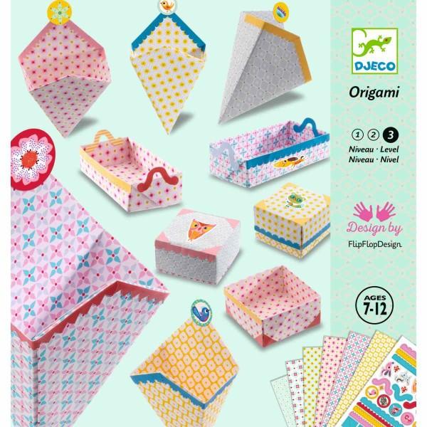 Kirigami Kleine Schachteln