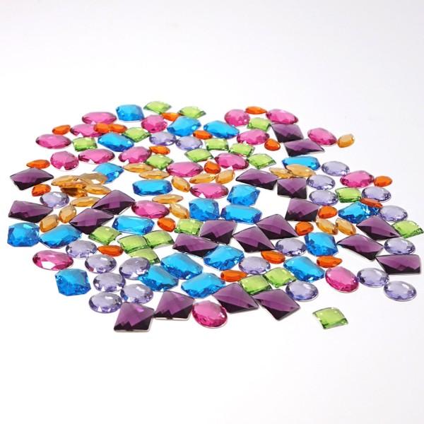 Riesen Acrylsteine 140 Teile