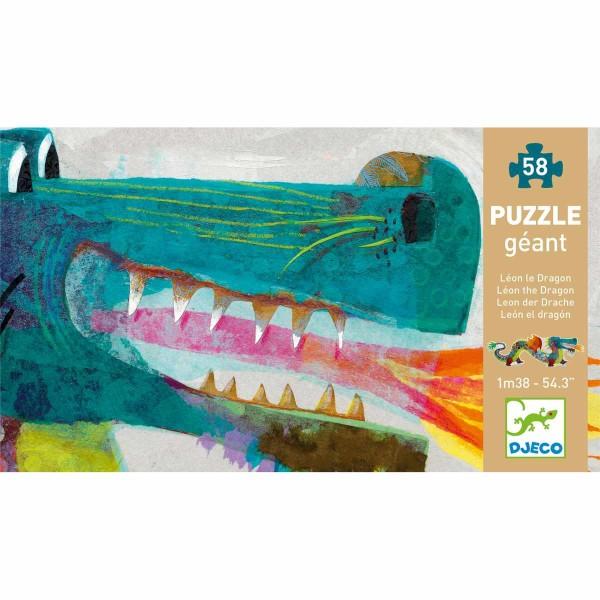 Puzzle Leon der Drache - 58 Teile