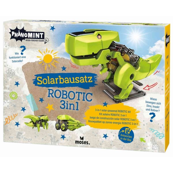 PhänoMINT Solarbausatz ROBOTIC