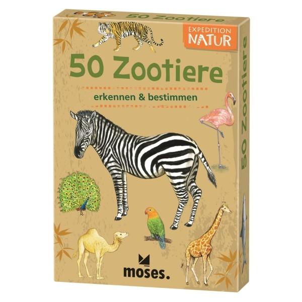 50 Tiere im Zoo