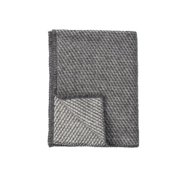 Baby Wolldecke Velvet Grau