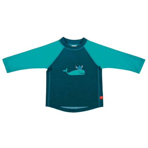 Langarm Bade T-Shirt boys, 6 Monate, blue whale