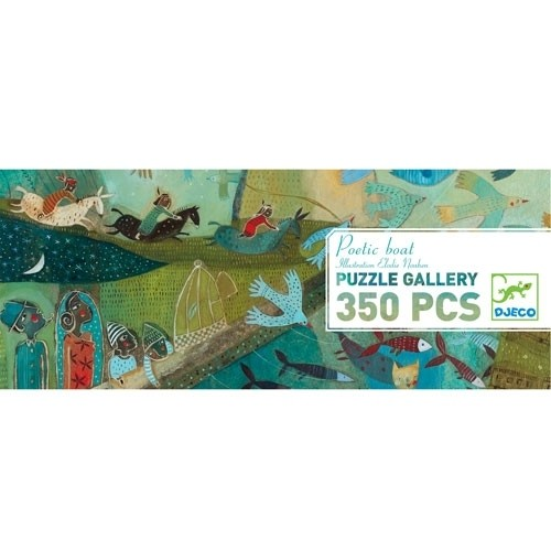 Puzzle Gallery Poetic boat - 350 Teile