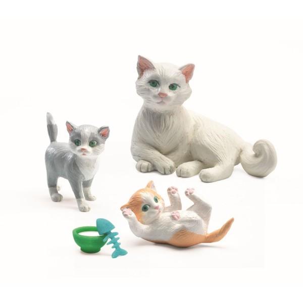 Puppenhauszubehör Katzen