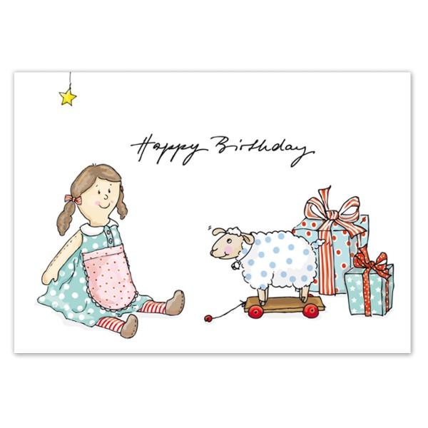 Postkarte Spielzeug Birthday
