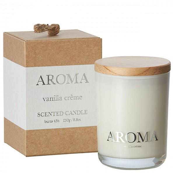 Kerze Aroma vanilla creme M