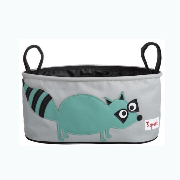 Kinderwagentasche Waschbär