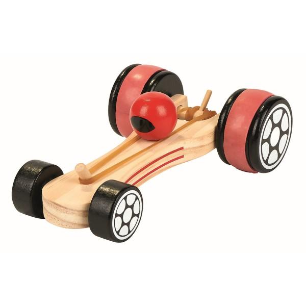 Rennwagen mit Gummimotor