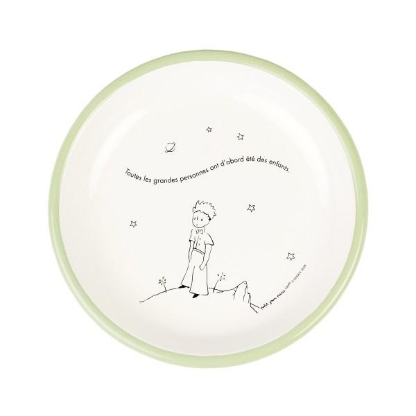 Emaille - Teller Der kleine Prinz