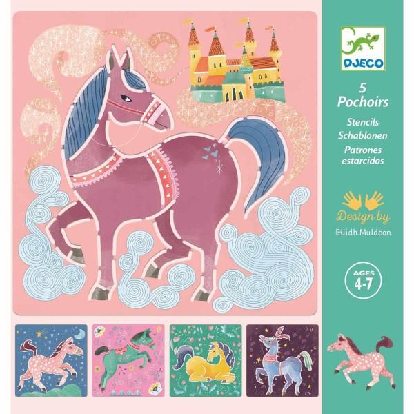 Schablonen: Pferde