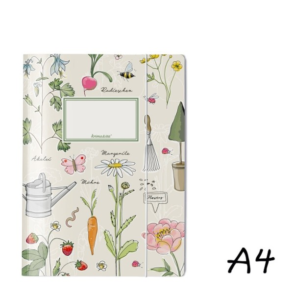 Sammelmappe Gartenliebelei A4