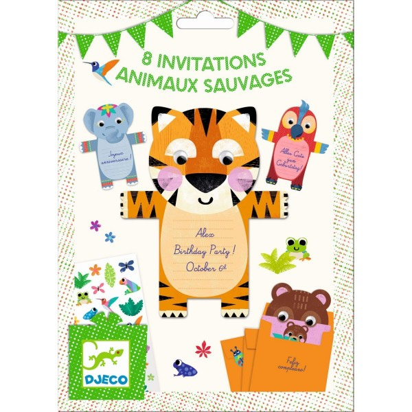 Geburtstag Einladungskarten Tiere Einladungskarten