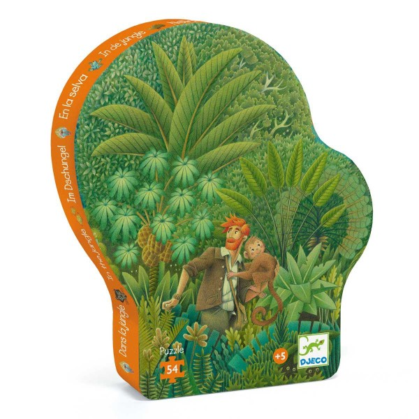 Puzzle: Im Dschungel - 54 Teile