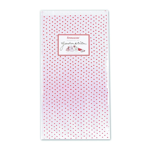 Geschenktüte Tupfen Rosa