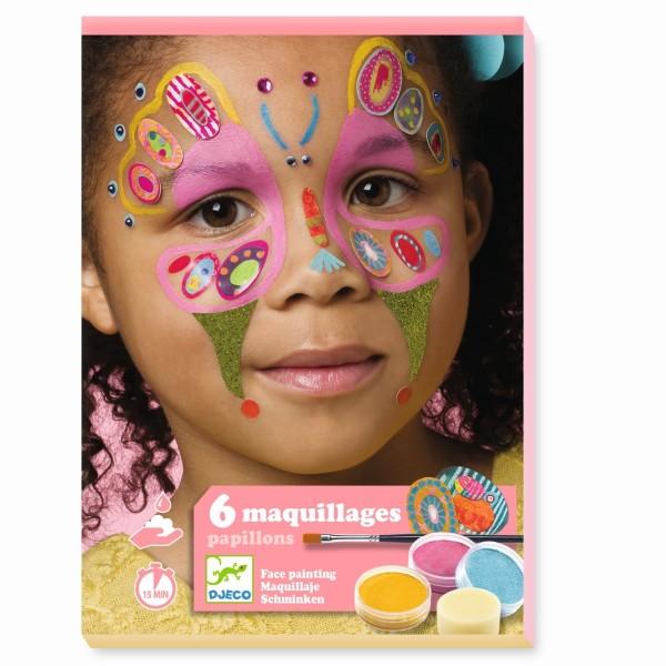 Kinderschminke Set Schmetterling